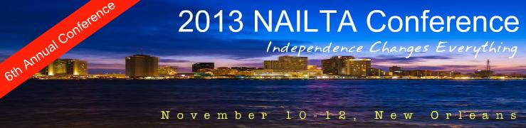 NAILTA 2013 Conference Banner